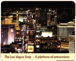 The Las Vegas Strip - A plethora of attractions