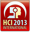 HCI 2013 International, www.hcii2013.org